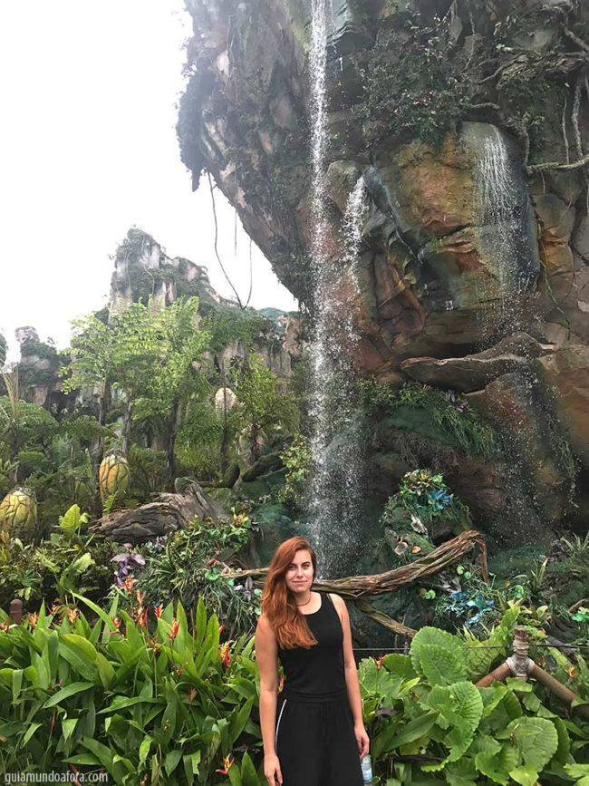 nova área do Avatar na Disney