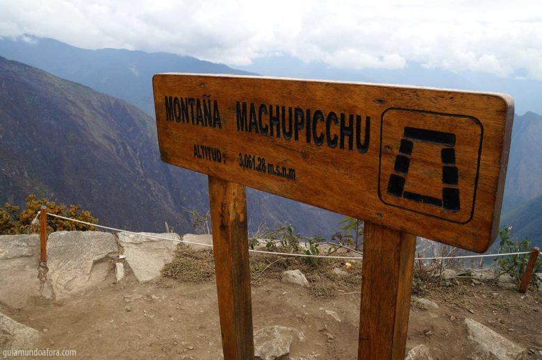 Montanhã Machu Picchu