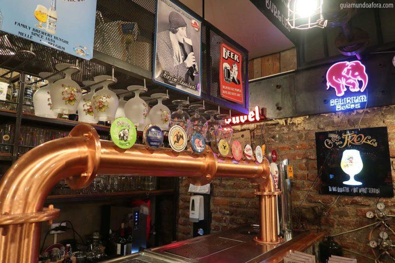 bares em Santiago