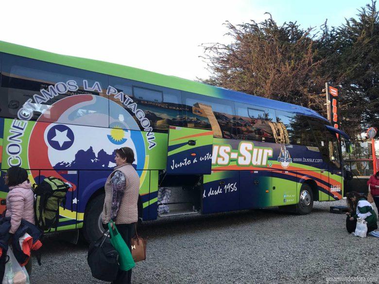 ônibus para Ushuaia