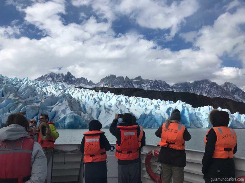 mapa de Torres del Paine pontos turísticos