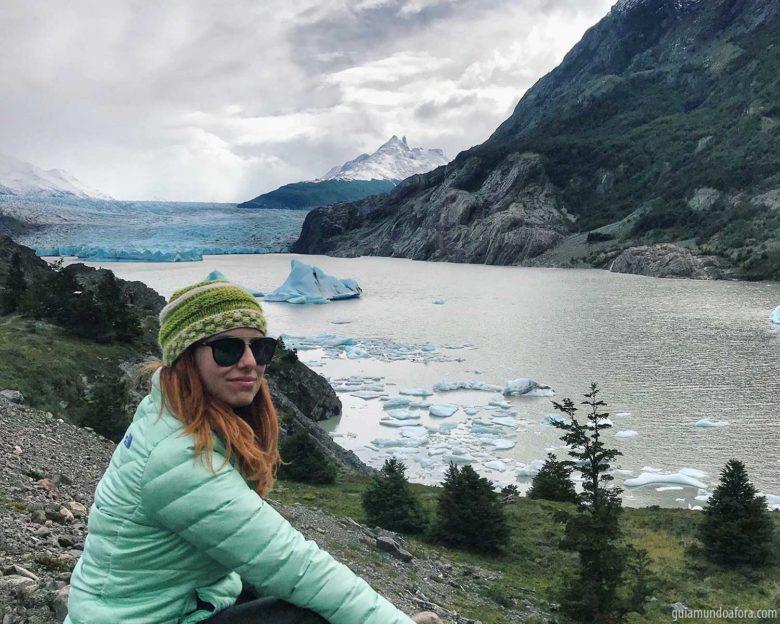 atrações em Torres del Paine Geleira Grey