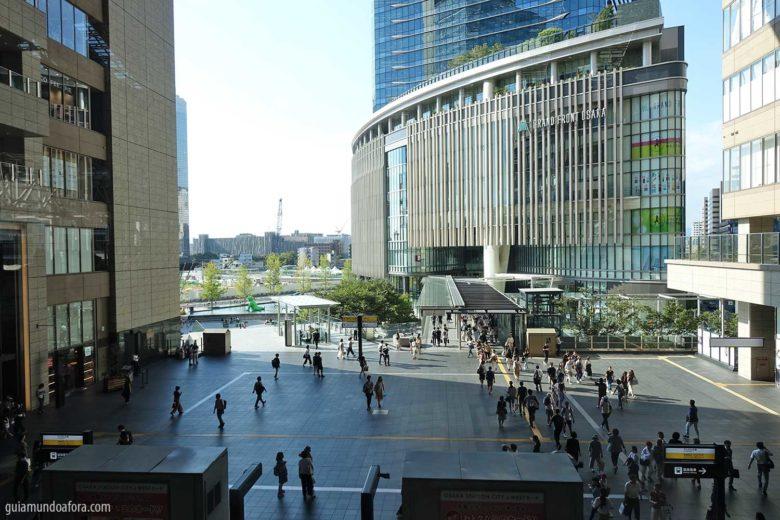 Estação de Osaka no Japão