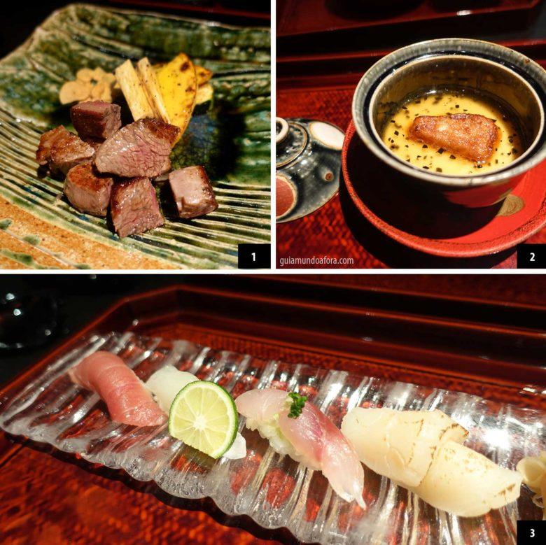 comida japonesa em tokyo