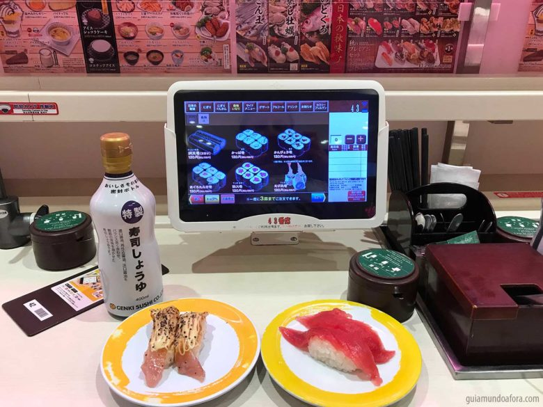 sushi de esteira tokyo