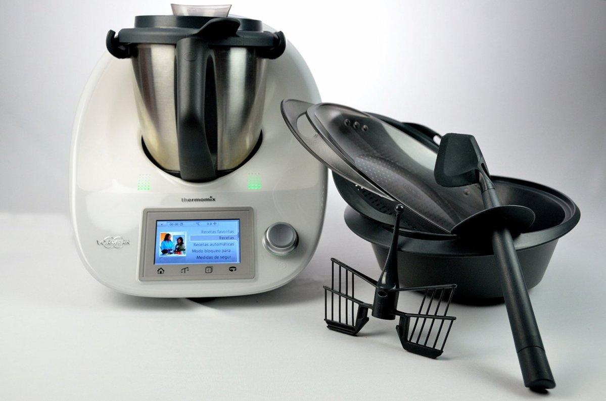 Thermomix tm5 mejor robot de cocina precios y for Robot de cocina fussioncook