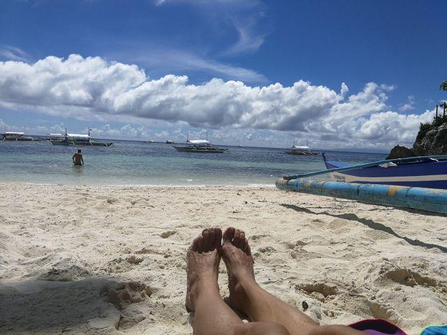 Danao Beach, en el sur-oeste de la isla de Panglao.