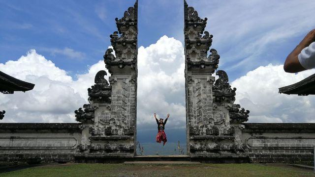 Gate of Heaven, una de las fotografías más típicas de Bali