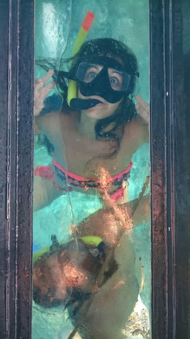Snorkel, una diversión típica de la isla