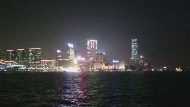 Skyline de Hong Kong, no pudimos terminar de disfrutarlo😫