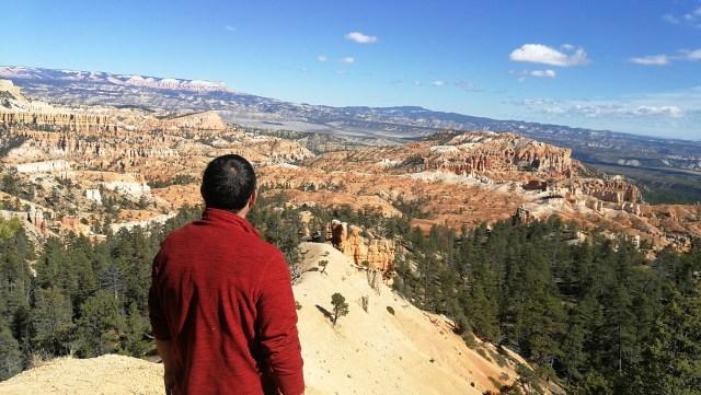Los miradores de Bryce, realmente espectaculares. Lo más espectacular de paisajes de Utah.