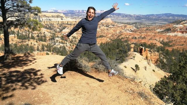 Los saltos de Esther en Bryce Canyon. Uno de los paisajes más espectaculares de Bryce.