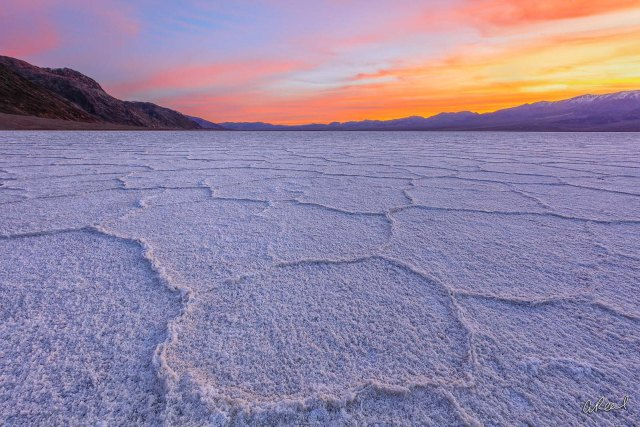 Paisajes de Death Valley.