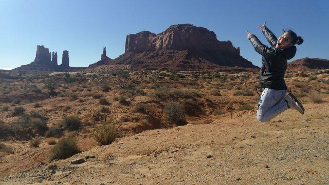 Eb Monument Valley los paisajes son lo habitual.