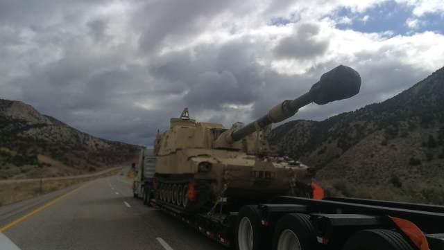 Tanque americano, preparados para todo lo que podemos ver en Arches National Park