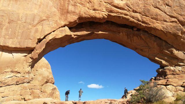 Window trailhead que ver en Arches National Park