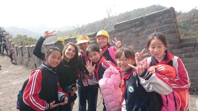 Siempre hay excursiones allí, en China podréis hacer amigos!!!