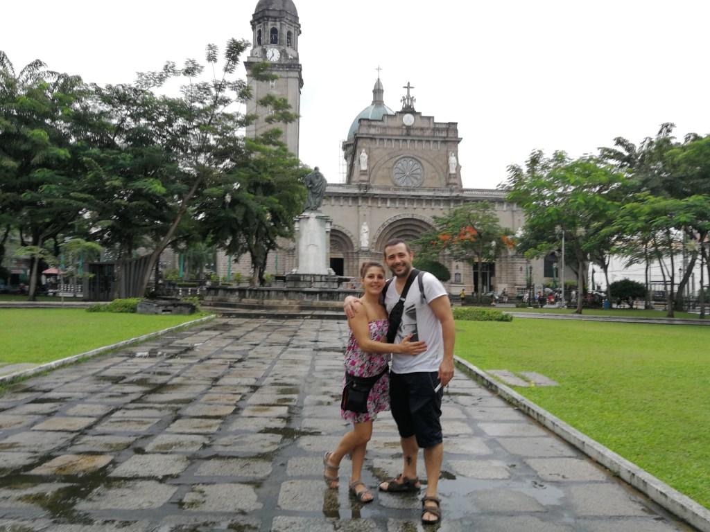Catedral de Manila. Visitar Intramuros
