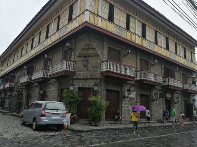 Las calles de Intramuros, totalmente reformadas.