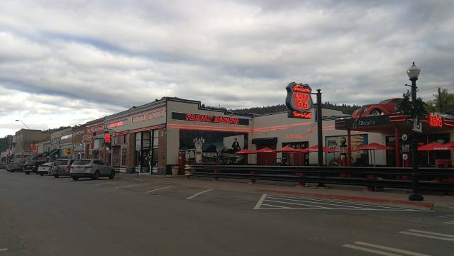 Otro gran lugar para comer en Williams. Ruta 66