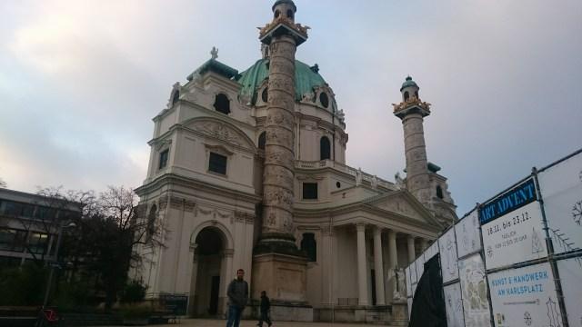 La iglesia más importante que se puede ver en el centro de Viena.