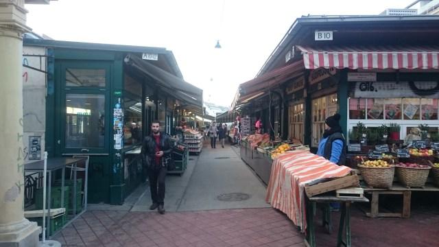 Mercado callejero de Viena.
