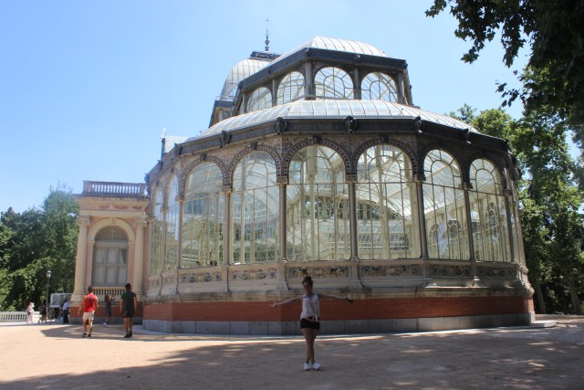El Palacio de Cristal Retiro.