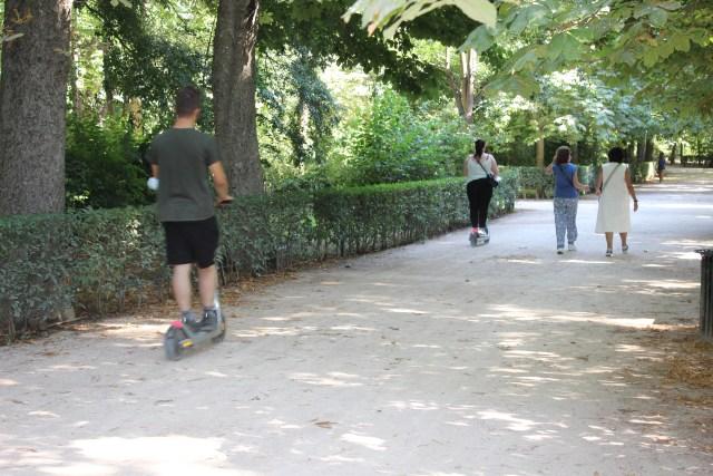 Los típicos, o no tan típicos, paseos por El Retiro.