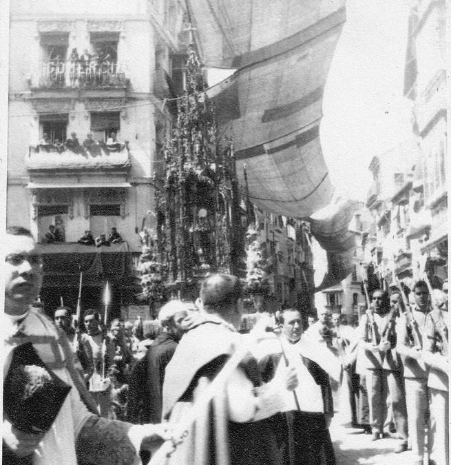 Curiosidades históricas: La fiesta de Corpus Christi de 1928.
