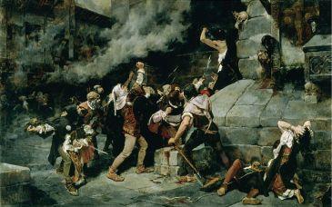 Revuelta antijudía en Toledo. Vicente Cutanda
