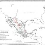 Mapa de la Revolución Constitucionalista
