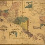 Mapa Carta de los Estados de Centro America