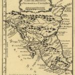 Mapa Costa Rica y Nicaragua