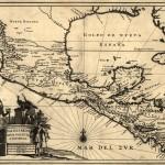 Mapa de Nueva España, Nueva Galicia y Guatemala