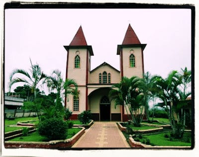 Iglesia Barbacoa de Puriscal