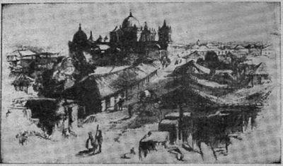 Las fuerzas aliadas marchan de León sobre los invasores