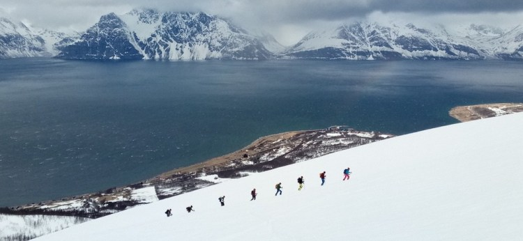 noruega esqui de travesia guía de montaña