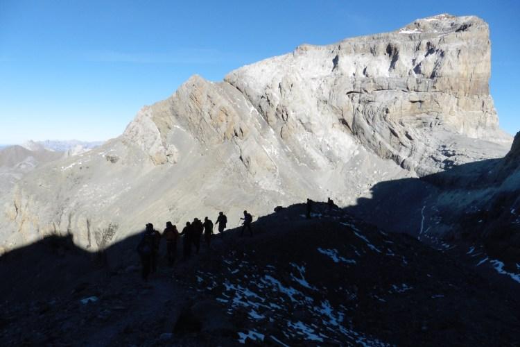Asciende los tresmiles de ordesa con un guia de alta montaña