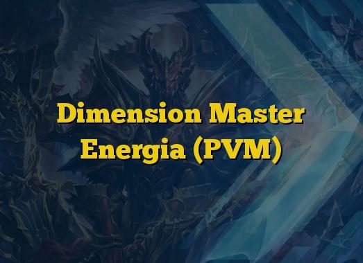 Dimension Master Energia (PVM)