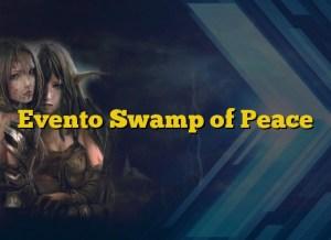 Evento Swamp of Peace