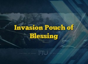 Invasion Pouch of Blessing