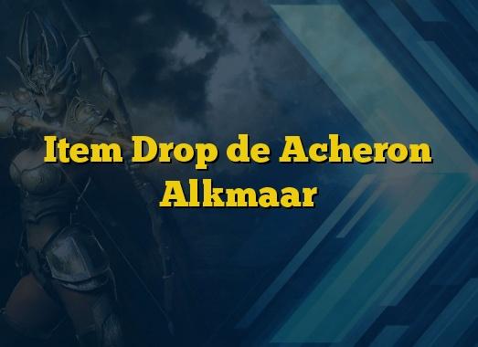 Item Drop de Acheron Alkmaar