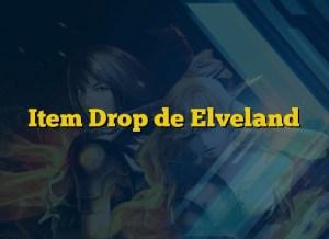 Item Drop de Elveland