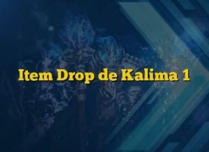 Item Drop de Kalima 1
