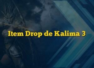 Item Drop de Kalima 3