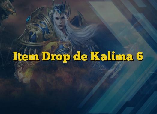 Item Drop de Kalima 6