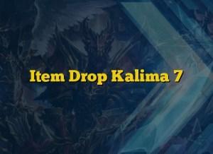 Item Drop Kalima 7