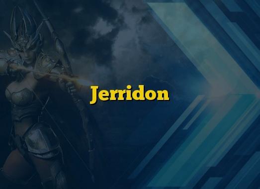 Jerridon