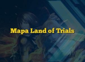 Mapa Land of Trials