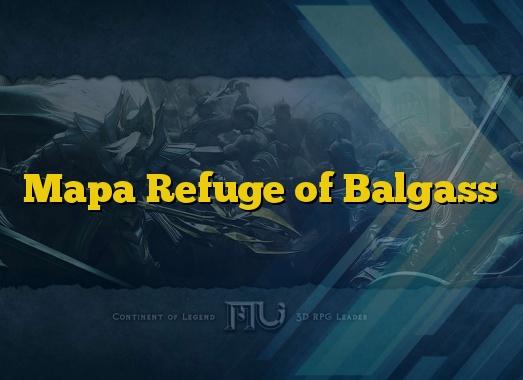 Mapa Refuge of Balgass